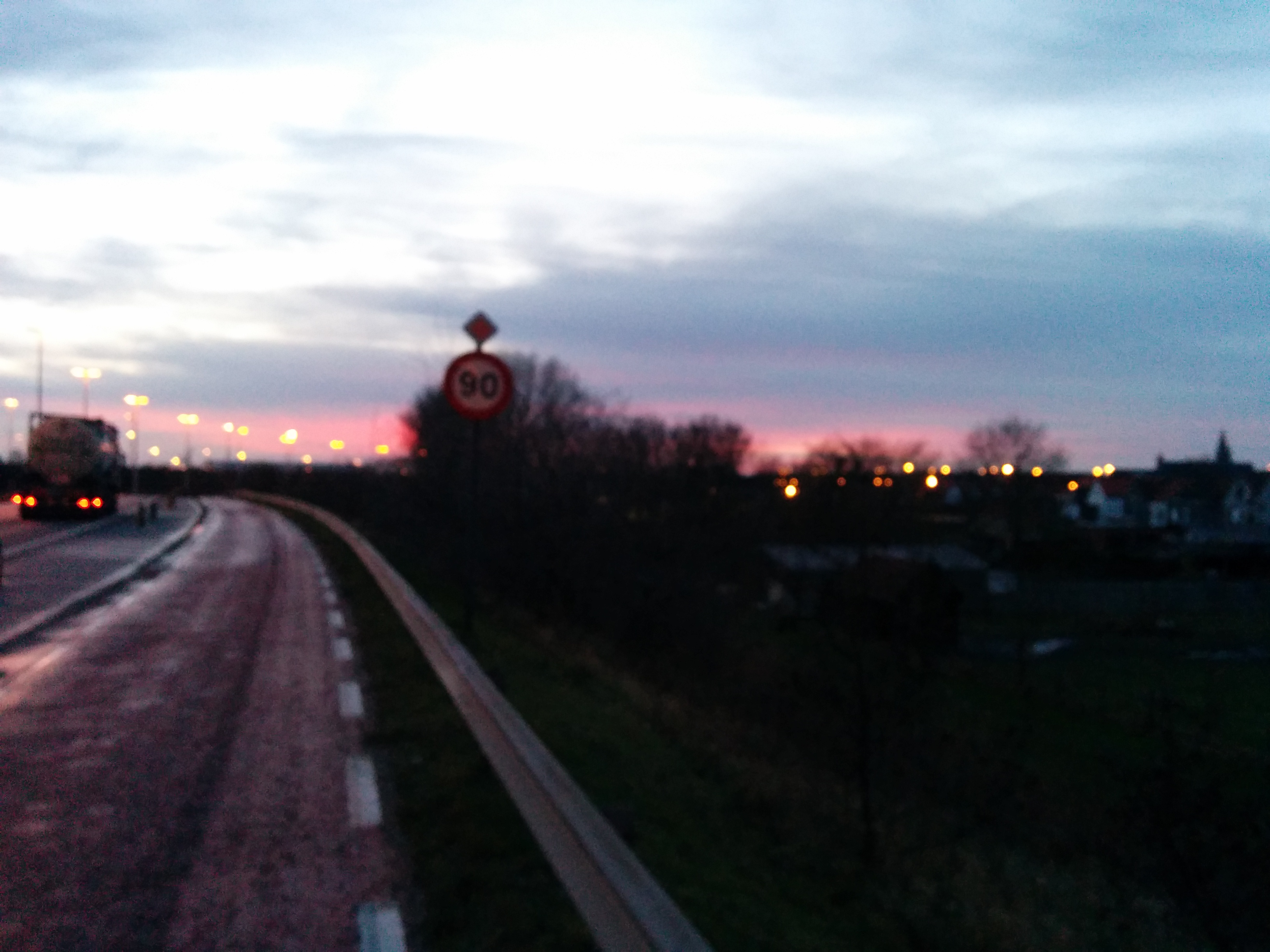 Evening sight Zeebrugge