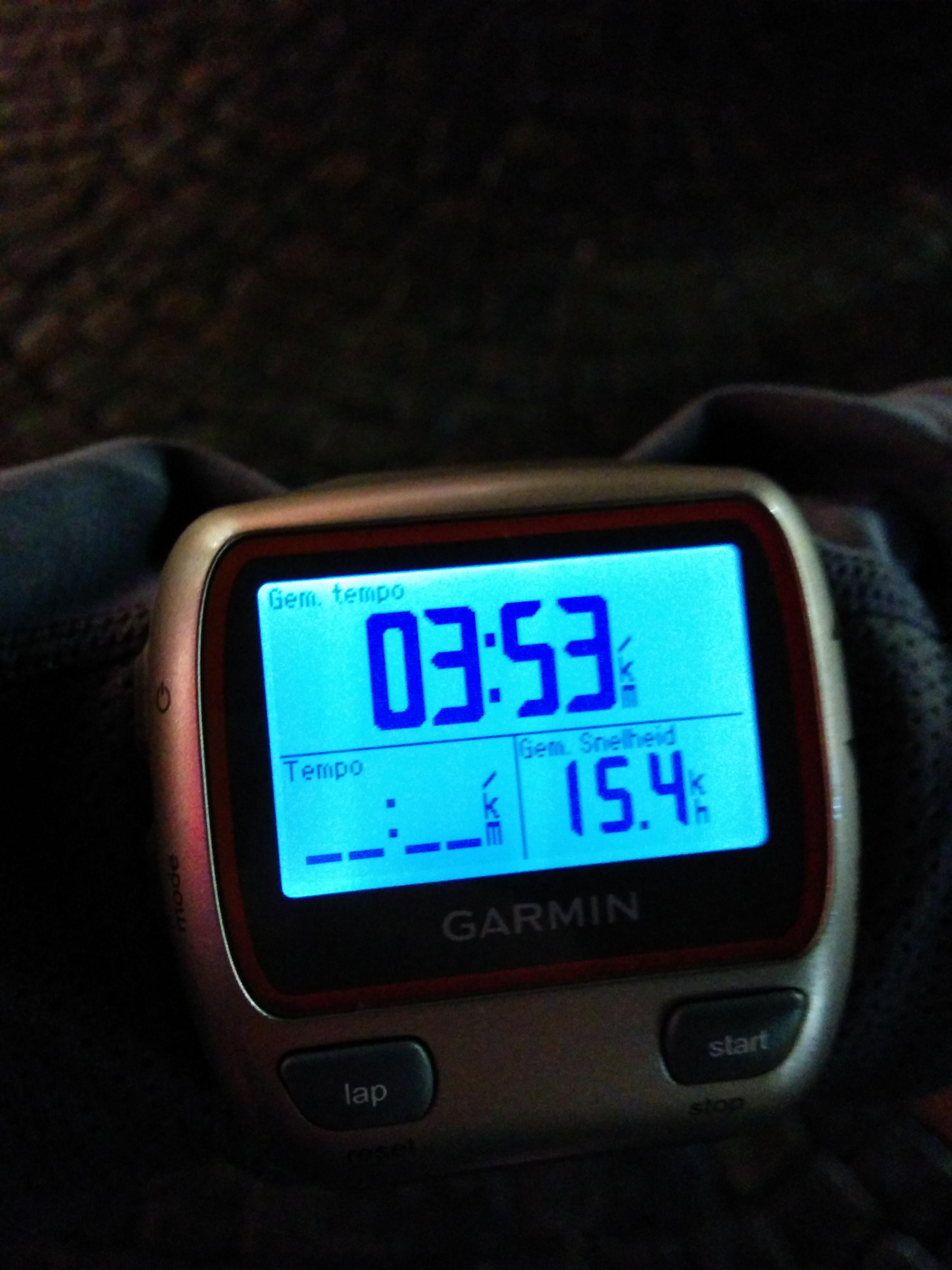 Avg pace Christmas Run Bruges