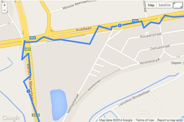 Boggy GPS Endomondo