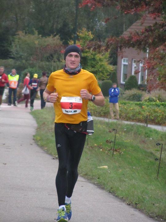 Marathon Brabant - km39 on the bridge