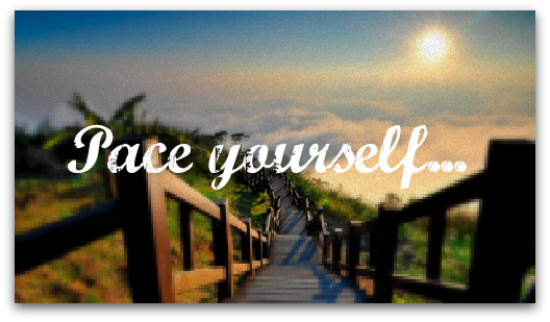 pace-yourself